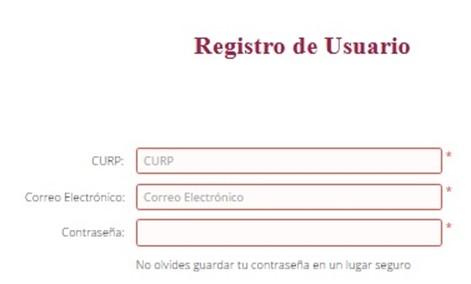 Formulario de Registro en Portal Fone