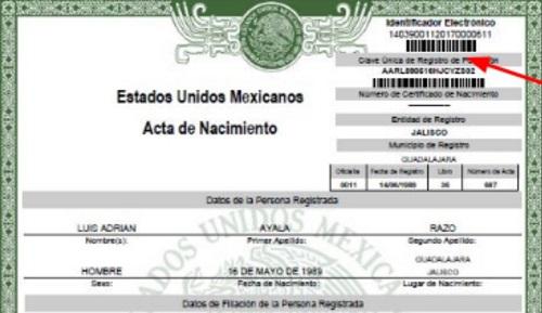 Consigue tu acta de nacimiento de México en línea