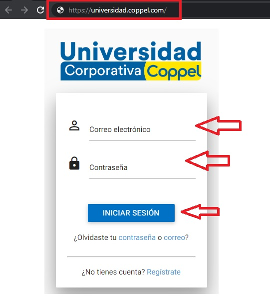 iniciar sesion en la intranet de la universidad coppel