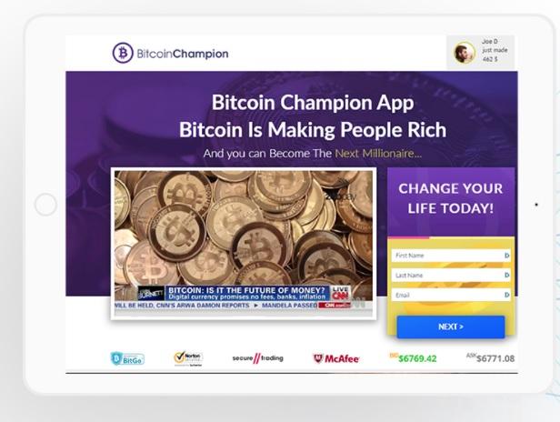 Bitcoin Champion: Qué es y como funciona