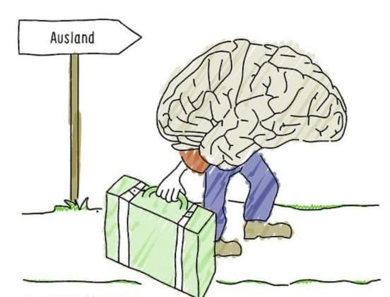 Qué es la fuga de cerebros