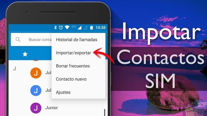 Como guardar mis contactos telefónicos en Gmail