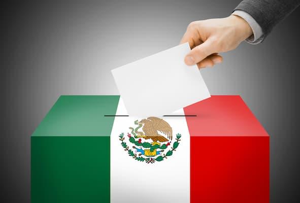 Foto X Casilla en las elecciones de México