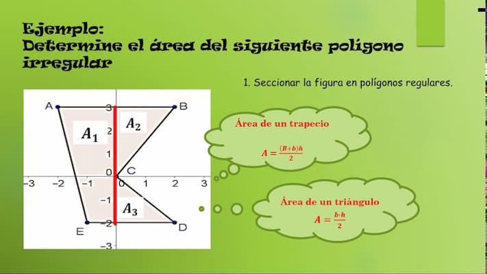 Programa para calcular área de polígonos irregulares