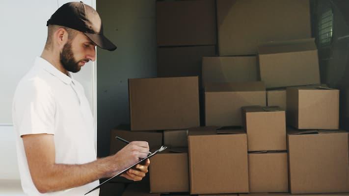 Productos para proteger la mercancía durante un traslado